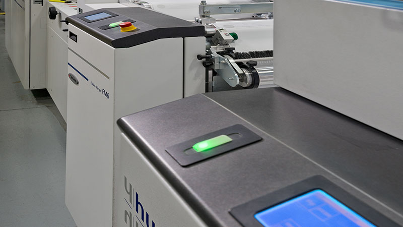 Access Direct equipment includes high-speed finishing equipment to keep up with its high-speed digital presses.