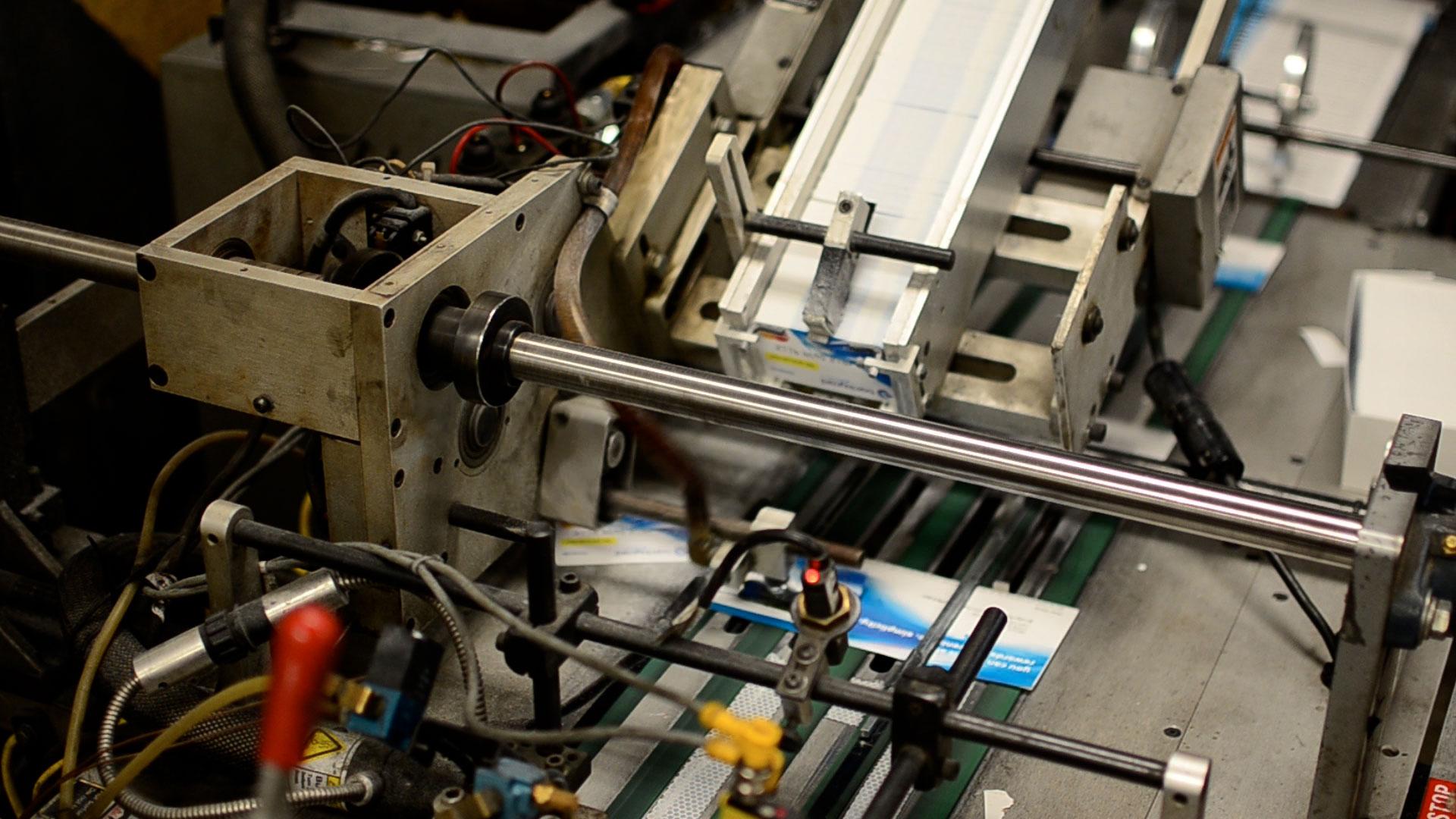 Inserting equipment