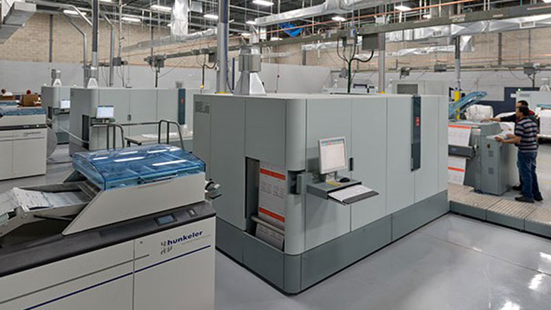 Production Inkjet equipment